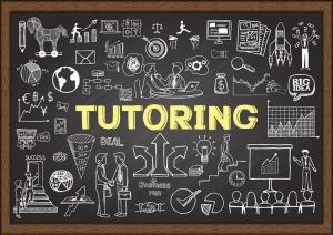 Tutoring chalkboard